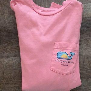 Boys Florida Whale Pocket T-Shirt